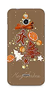 Amez designer printed 3d premium high quality back case cover for Infocus M2 (Sweets Tree)