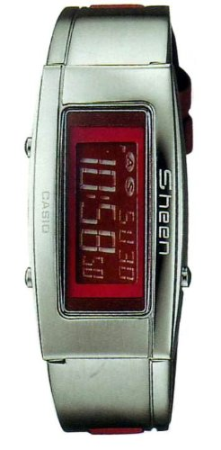 Casio Sheen Slim Stainless Steel Dress Watch Shn-1000L-4Adf front-613930