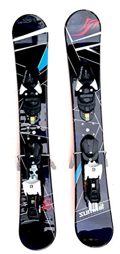 Summit ZR88 Skiboards Snowblades Skiblades w.Salomon L10 Release Bindings 2016