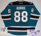 Brent Burns Autographed Jersey - San Jose Sharks Real Rbk at Amazon.com