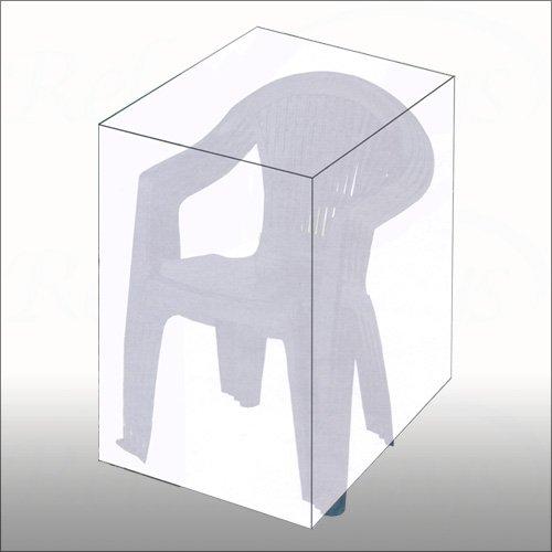 Abdeckplane für Gartenstühle rechteckig 68x68x105 cm – Schutzhülle Abdeckhaube günstig bestellen