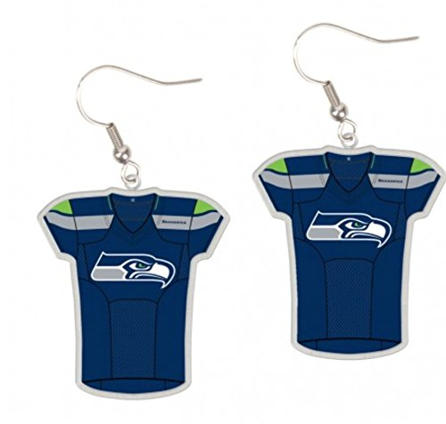 NFL-Seattle-Seahawks-Dangle-Jersey-Earrings