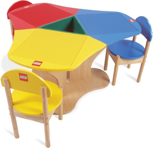 Buying toy review: LEGO Education 774509 Solid Hardwood Three Seat ...