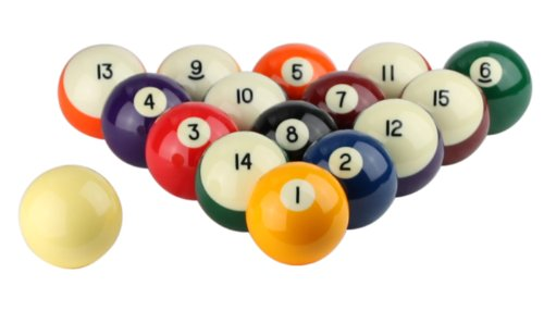 Great Deal! Aramith 2 1/4 inch Crown Standard Belgian Ball Set