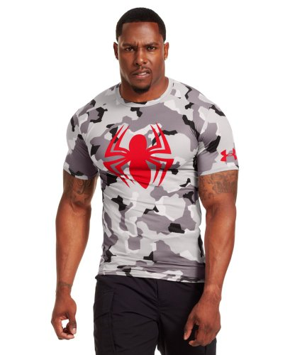 Under Armour Men's Alter Ego Short Sleeve Compression Shirt X-Large GRAY AREA