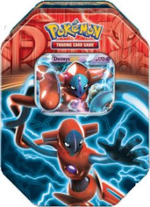 Pokemon Black & White - Fall 2013 Legendary Tin Deoxys-EX