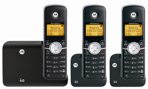 motorola 3 handset phones