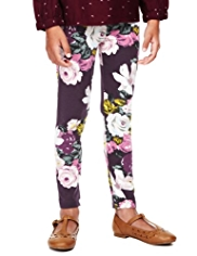 Autograph Cotton Rich Floral Leggings