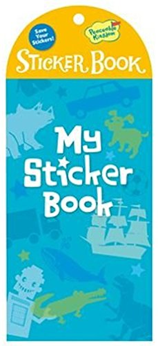 Peaceable Kingdom My Sticker Book Blue Little Sticker Keeper