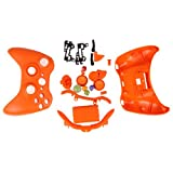 HDE Orange Replacement Xbox 360 Controller Shell Cover + Buttons