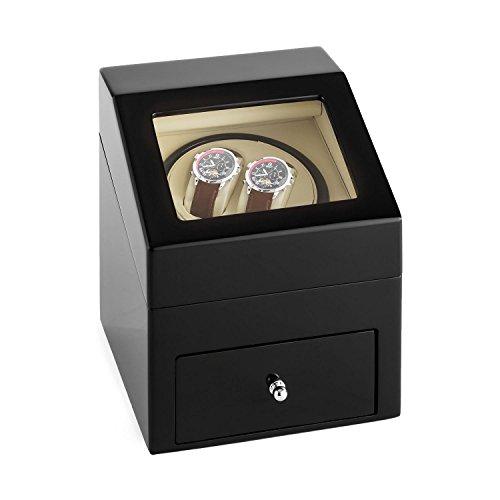 klarstein-monte-carlo-remontoir-pour-2-montres-automatiques-tiroir-pour-3-montres-coussin-cuir-elega