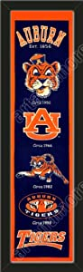 Heritage Banner Of Auburn Tigers-Framed Awesome & Beautiful-Must For A... by Art and More, Davenport, IA