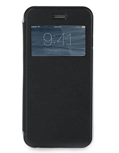SKECH Slim View Case for iPhone 6 Plus - Retail Packaging - Black/Clear
