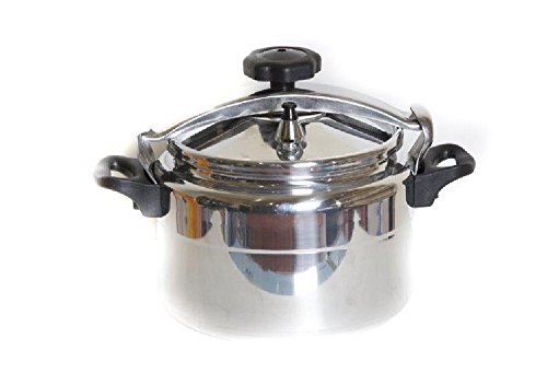 Aluminum Pressure Cooker with Safety Valve 15 Liter (Electric Pasta Boiler compare prices)