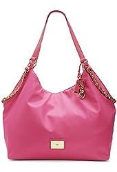 Juicy Couture Malibu Nylon Hobo - Sweet Raspberry