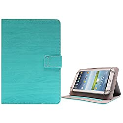 DMG Premium Folio Case Cover with Stand View for Asus Fonepad 7 2014 FE170CG (Blue)
