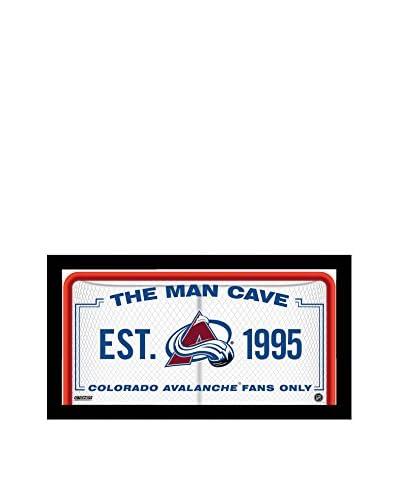 "Steiner Sports Memorabilia Colorado Avalanche Man Cave Sign, 10"" x 20"""
