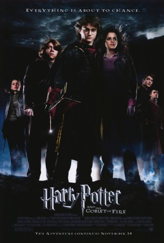 Harry Potter and the Goblet of Fire 27x40 Movie Poster Picture
