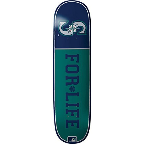 element-skateboards-mlb-for-life-mariners-skateboard-deck-featherlight-construction-8-x-32-by-elemen