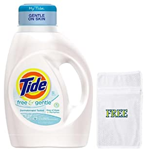 Tide Free and Gentle, Free of Dyes and Perfumes