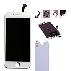 Apple iPhone 6 Full LCD Display + Touch Screen Digitizer Assembly by Online for Good : White Color LCD for iPhone 6