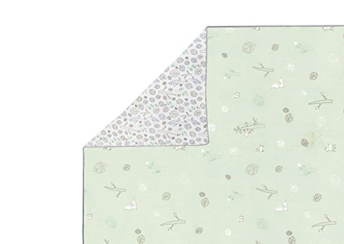 Babyletto Play and Toddler Blanket, Tranquil Woods (Discontinued by Manufacturer)