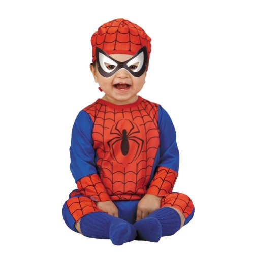 Marvel Comics Infant Boys Amazing Spiderman Costume