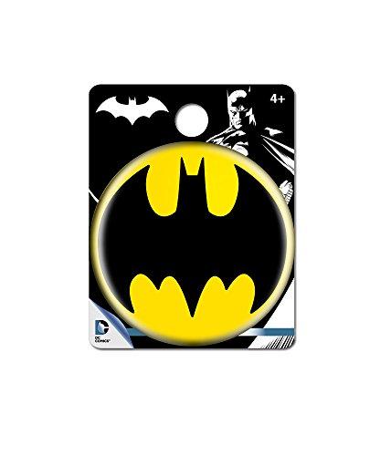 DC Comics Batman Logo Single Button Pin Action Figure - 1