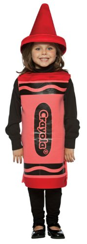 Rasta Imposta Crayola Red Toddler Costume,Red,4-6X