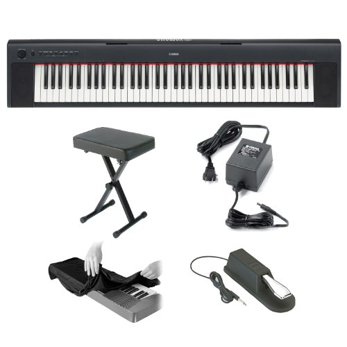 Best deals on piano keyboards yamaha page 4 keyboardman for Yamaha pa150 keyboard ac power adapter