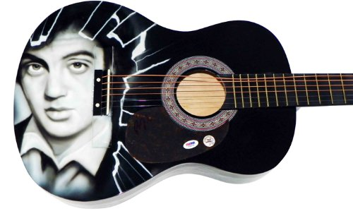 Billy Joel Autographed Signed Airbrushed Guitar Psa