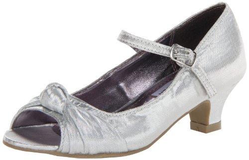 Steve Madden J Bettty Dress Sandal (Little Kid/Big Kid),Silver,3 M Us Little Kid front-1032344