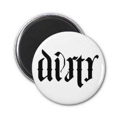 Ambigram Dishwasher Magnet
