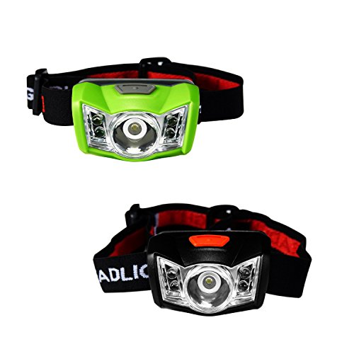 SUBOOS Ultra Bright LED Headlamp Flashlight - 3 Work Modes