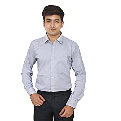 Kriss Striped Men's Formal Stretch Slim Fit Shirt