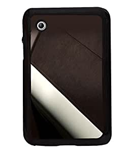 printtech Leather Pattern Back Case Cover for Samsung Galaxy Tab 2 7.0 P3100 , Samsung Galaxy Tab 2 (7.0)