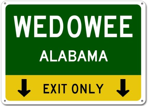Wedowee City Sign