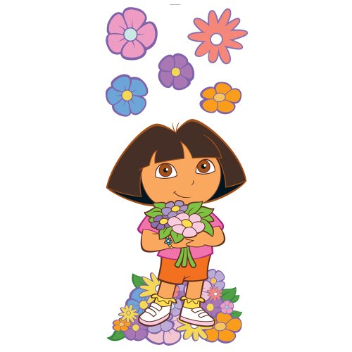 Blue Mountain Wallcoverings GAPP1828 Dora the Explorer Giant Sticker - 1