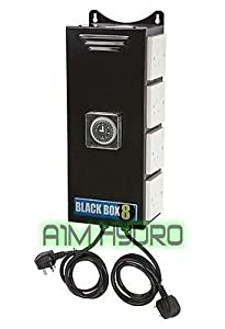 Black Box 8 Way 26A 6KW Contactor Relay Built In Timer Switch Hydroponics       reviews and more information