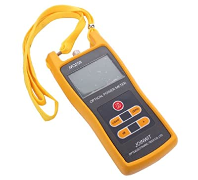 20mW Visual Fault Locator Fiber Optic Cable Tester 20KM Optical Laser Source + Handheld Optical Power Meter Tester JW3208 -50 to +26 dBm For Telecom CATV