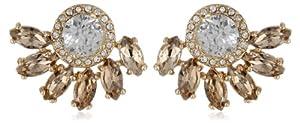 Juicy Couture Crystal Marquise Cluster Rhinestone Stud Earrings