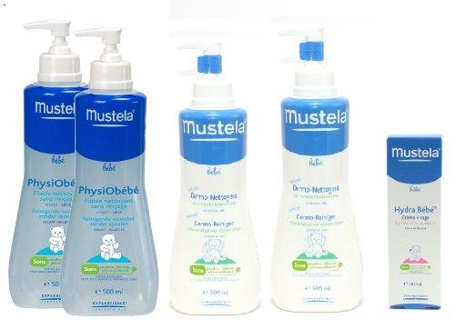 mustela-physiobebe-2x500ml-dermonettoyant-2x500ml-1-hydra-bebe-creme-visage