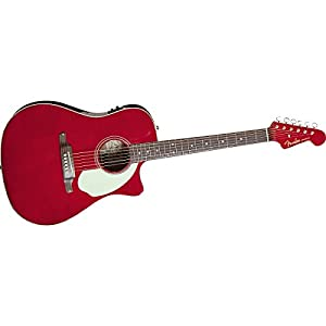 fender sonoran sce dreadnought cutaway acoustic electric guitar with fishman. Black Bedroom Furniture Sets. Home Design Ideas