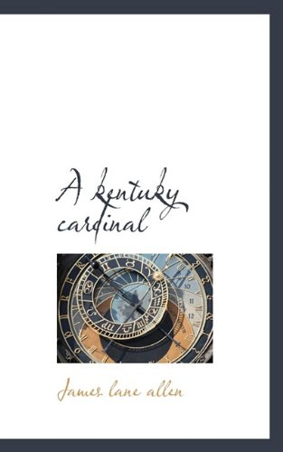 A kentuky cardinal [Allen, James Lane] (Tapa Blanda)