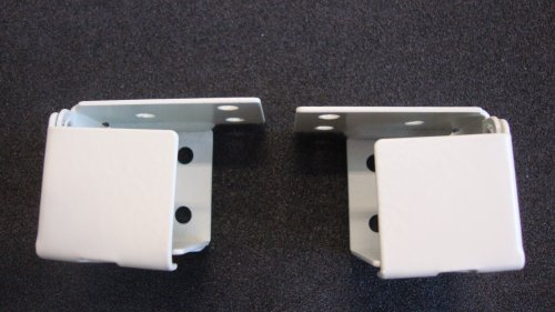 8 Pair 1 Quot Mini Blind Bracket Metal Box Style White
