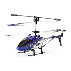[Best price] Puzzles - Syma S107 Gyro Metal Frame 3 Channel Infrared Radio Remote Control Helicopter with Gyroscope RC RTF - Color Blue - toys-games
