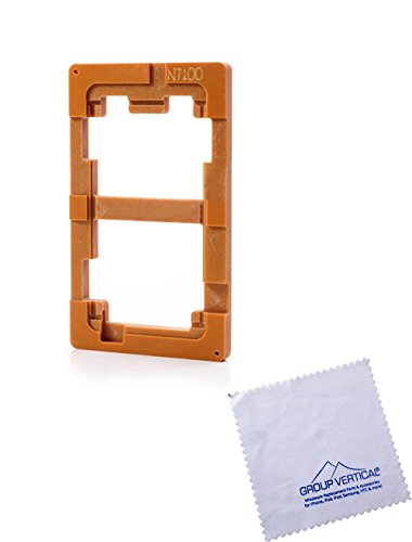 Group Vertical ® Lcd Glass Alignment Uv Loca Glue Lens Repair Mould For Samsung Galaxy Note 2