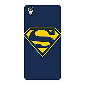 Voila Yellow Super Log Back Case Cover for OnePlus X