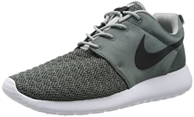 Nike Men's Rosherun Premium Dk Mica Green/Blk/Bs Gry/White Running Shoe 8 Men US