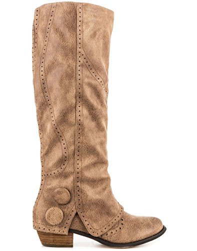 Not Rated Women's Bailey Winter Boot, Taupe, 9 M US